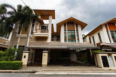 ให้เช่า - RENT Baan Sansiri Sukhumvit 67 Type 4 Bedroom , 5 bathroom Size 420 sqm. , Ready to move in BTS Phrakanong only 300 m.
