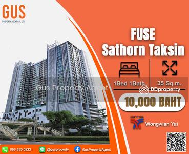 ให้เช่า - ห้องไซส์ใหญ่ พื้นที่เยอะ ราคาปังสุด หายากมากกก! !! !! ที่   Fuse Sathorn - Taksin