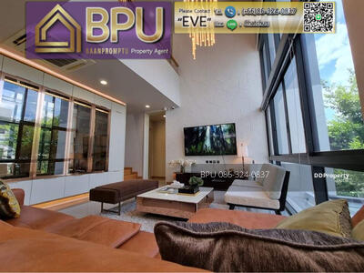 For Rent - ** 4 bedrooms luxury house for Rent ** Parc Priva close to Ratchada road