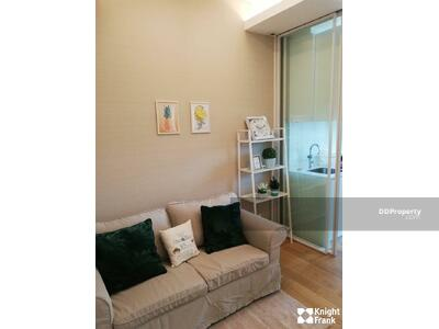 For Rent - Condo for rent at The Saint Residences. 1 bedroom and 1 bathroom with living area 30 sq. m. Fully furnished with nice decoration. #THRSPSTAN0003