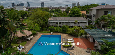 For Rent - Pool and Greenery Apartment 4 Bedrooms For Rent in Yenakart Bangkok (10157)
