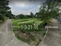 ขาย - ขายด่วนที่ดินเปล่า 1-3-21 ไร่ ทำเลดี สร้างอพาทเมนท์ได้ ถนนราชพฤกษ์ ใกล้โฮมโปร