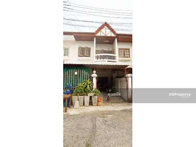 For Sale - C5MG100337 Two-storey townhouse for sale with 2 bedrooms and 2 bathrooms. The area size is 19. 3 sq. wa. The price is at THB 1. 6 million.