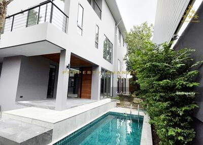 For Rent - (S-H164) MODERN 3 STOREYS SINGLE HOUSE WITH PRIVATE POOL