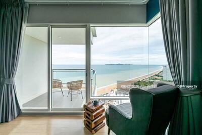 For Sale - Inform the code KRE-W6962 Reflection Jomtien Beach, 4 bedrooms, 4 bathrooms, 240. 5 sq m, 29th-30th floor, sell 36, 000, 000 baht **** If you don't answer the call, add Line 0962215326 Khun Kai Omelette