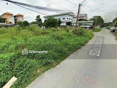 For Sale - ขาย ที่ดิน ซอยชุมชนมหาดไทย2 เฉลิมพระเกียรติ ร. 9 ซอย28 ขนาด 2 งาน 33 ตร. วา ห่างจากถ. เฉลิมพระเกียรติ ร. 9 แค่ 2. 2 กม.