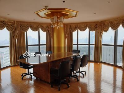 For Rent - Spectacular High Rise 3-BR Condo at Nusa State Tower Condominium near BTS Saphan Taksin (ID 436294)