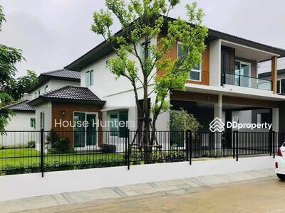 For Sale - Vายด่วน! !บ้านชัยพฤกษ์ ปิ่นเกล้า-กาญจนา ซ. กันตนา บ้านใหม่ สวย หลังมุม ใกล้สวนส่วนกลาง Sาคาเหลือเพียง 8. 55 ล้านบาทเท่านั้น! !!