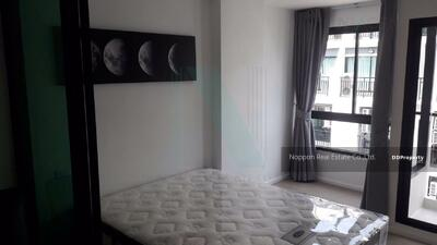For Sale - Condo for sale, PAUSE Sukhumvit 107, type 1 bedroom, size 27 sqm. , 7th floor, Building B, near BTS Bearing.   CNOP15493