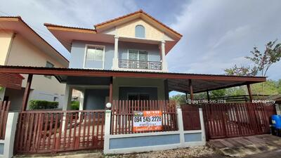 For Sale - บ้านเดี่ยวหลังมุม หมู่บ้านเพทายเพลส ลำลูกกาคลองสาม ปทุมธานี พื้นที่เยอะ