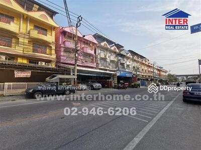 For Sale - อาคารพาณิชย์ 3. 5 ชั้น 66 ตร. ว. ใกล้โรงเรียนชุมทางตลิ่งชัน ซอยสวนผัก27-29 ถนนบรมราชชนนี - 42842