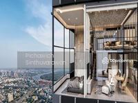 ขายดาวน์ - KnightBridge Space สุขุมวิท – พระราม 4  2 Bedroom LOFT Suite House Plan