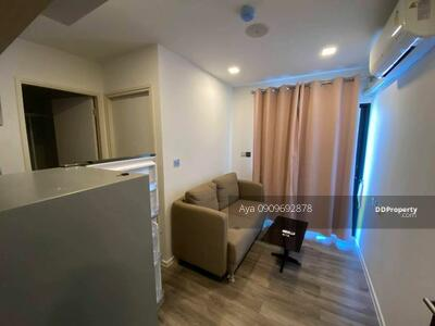 For Rent - BZ0396 Room for Rent Brown Condo Huaikwang 8, 500 THB Fully Furnished