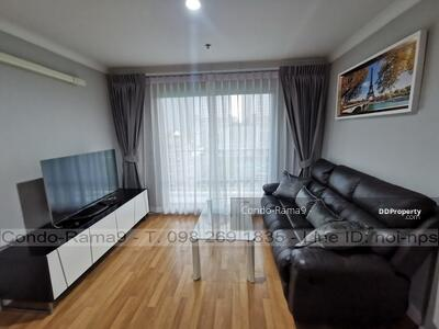For Rent - RENT ! ! Condo Lumpini Place, MRT Rama 9, 2 Beds, Tower D, Floor 9, 71 sq. m. , 22, 000 Baht