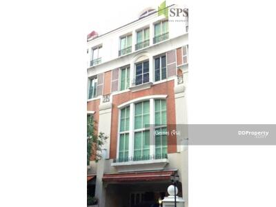 For Rent - Townhome Baan Klang Krung Thonglor BRITISH TOWN – THONGLOR ทาวน์โฮม บ้านกลางกรุงทองหล่อ บริทติช ทาวน์ ทองหล่อ (SPS-GH1274)