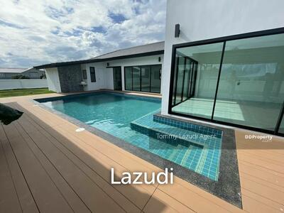 For Sale - 3 Bedroom Pool Villa Newly Built for Sale at Tha Wang Tan, Saraphi