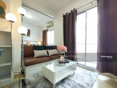 For Sale - W0794 Condo for sale, high floor, good view, A space Sukhumvit 77, 1 bedroom 1 bathroom Size 35 sqm, 7th floor, Building F, modern style luxurious, fully furnished