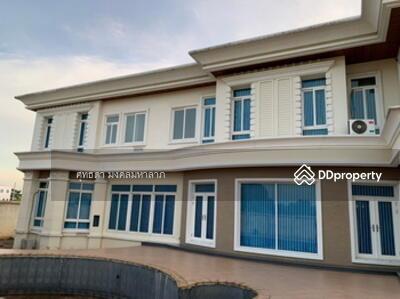 For Sale - ขายบ้านเดี่ยว  2 ชั้น พร้อมที่ดิน  5 ไร่ (บ้านสร้างเอง)  บางใหญ่  นนทบุรี
