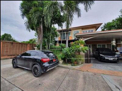 For Sale - Notify the code KRE-X6490 Single house, Casa Ville Village, Srinakarin, 3 bedrooms, 3 bathrooms, 220 sq. m. , 2 floors, sold 7, 900, 000 baht **** If not answered, please add Line 0962215326 Khun On****