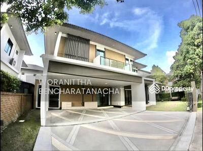For Sale - ขาย บ้านเดี่ยว   2 ชั้น  พร้อมเฟอร์นิเจอร์ ตกแต่งแล้ว มบ บุราสิริ  345  ราชพฤกษ์  บ้านสวย ราคาถูก