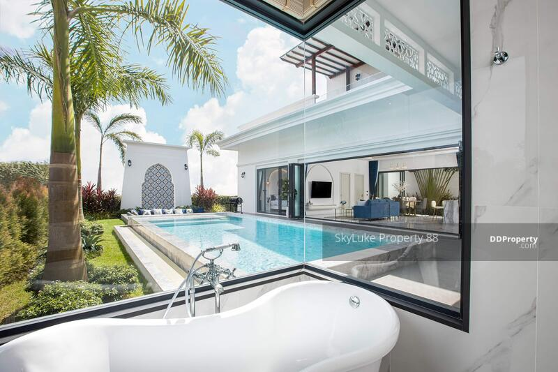 For sale! Luxury Pool villa Moroccan style in Thalang, Phuket #92642655