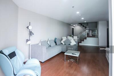 For Rent - Hot Deal Rent Belle Grand Rama 9 3 Bed Duplex Only 49K. Good type for family