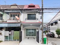 ขาย - บ้านมือสองตกแต่งใหม่ หมู่บ้านมนวดีพาร์ค ซอยวัดลาดปลาดุก ถนนเมน แปลงมุม