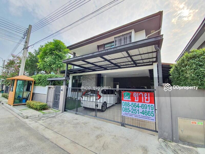ขายบ้านเดี่ยว 2 ชั้น หมู่บ้าน มัณฑนา รามอินทรา วงแหวน บ้านสวย สภาพดี พร้อมอยู่ #92790303