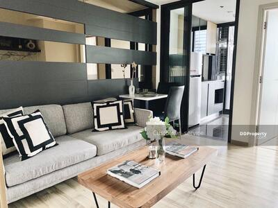 For Sale - CRP-S11-CD-642239 Special price for sale Condo The Line Chatuchak-Mochit. (Selling at a loss of more than 1 million baht) Room location and layout are the best. Room size is wide, comfortable,