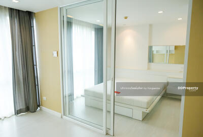 For Sale - Condo The Room Sukhumvit 64 @BTS Punnawithi, 42 sq. m 1Bed 7th floor, Nice View, Built-in furniture