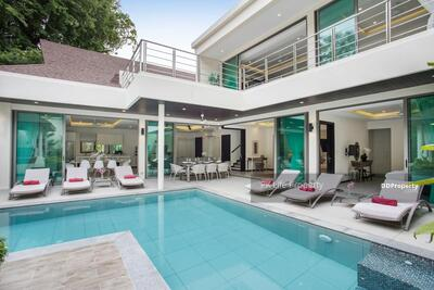 For Rent - 7R0414 This pool villa 4 bedroom 5 bathroom 55, 000/month the house location at Rawai