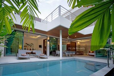 For Rent - 7R0415 This pool villa 3 bedroom 3 bathroom 40, 000/month the house location at Rawai