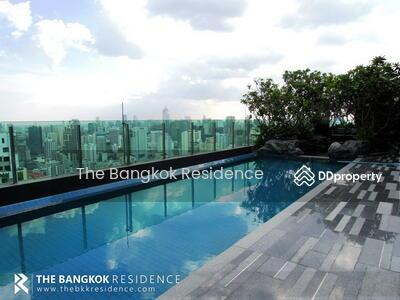 For Sale - Rare Item! ! The Address Asoke @11MB - High Floor 20+ Large Room  Near MRT Phetchaburi