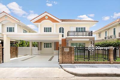 For Sale - บ้านมือสองตกแต่งใหม่ หมู่บ้าน ธันยบดี บางใหญ่ หลังบ้านไม่ชนใคร ติดถนนกาญจนาฯ ใกล้เซ็นทรัลเวสต์เกต
