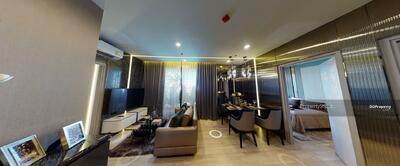 For Sale - Contemporary 2-BR Condo at Ideo Mobi Sukhumvit Eastpoint near BTS Bearing (ID 538485)