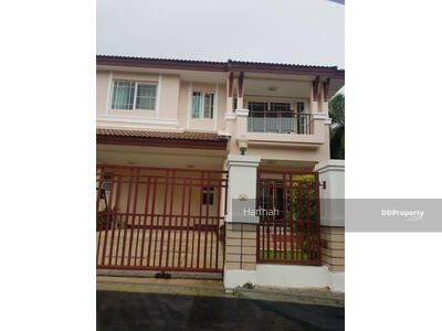 For Rent - 6AD0825 -Two storey  House for rent with 3 bedrooms, 3 bathrooms and 1 kitchen. - Utility space in 63 sq. w. Near the city.
