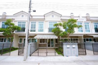 For Rent - Beautiful townhome for rent, Indy 4 Bangna Km. 7 (Indy 4 Bangna Km. 7), good location near Mega Bangna