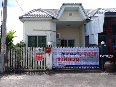 For Sale - Single Storey Townhouse for sale in Khlong Nueng, one floor, size 22. 2 sq m Khlong Luang District, Pathum Thani