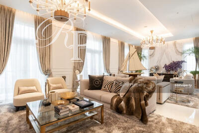 For Sale - (HC045) House for sale Crystal Solana, a super luxury house on the road along the Ramintra Expressway, near CDC