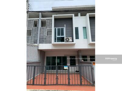 For Rent - Notify the code KRE-B1714 Townhome Arin Siri Ang Sila, 3 bedrooms, 3 bathrooms, use 100+ sq. m. 2 floors, rent 10, 000 baht @line: 0807811871 Khun On