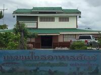 ขาย - ขายบ้านพร้อมที่ดิน เนื้อที่ 145 ไร่  ริมถนนบางขุนไทร บ้านแหลม เพชรบุรี