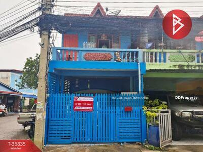 For Sale - ขายด่วนทาวน์เฮ้าส์หลังมุม หมู่บ้านทรัพย์บัวหลวง บางปู สมุทรปราการ