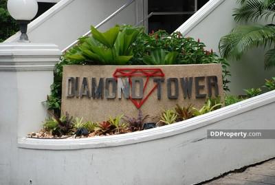ขาย - ขายคอนโด Diamond สีลม 3ห้องนอน ห้องมุม ใกล้ BTS