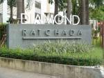 ขายราคาดีที่สุดในตอนนี้ Diamond Ratchada 1 ห้องนอน 35 ตร. ม. ทิศเหนือ ห้องมุม พิเศษ หายาก เพียง 2, 600, 000 บาท เท่านั้น! !