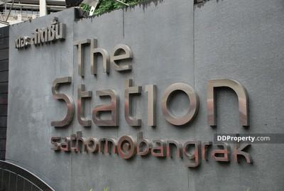 ขาย - คอนโดขาย The Station Sathorn - Bangrak (เดอะ สเตชั่น สาทร-บางรัก) The Station Sathorn-Bangrak condominium ซอย เจริญกรุง 65  ยานนาวา  สาทร 1 ห้องนอน พร้อมอยู่ ราคาถูก